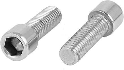 Lot de 50 vis cylindrique DIN 912 en acier inoxydable A2 V2A