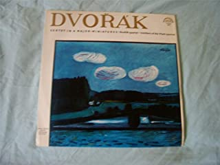 50824 DVORAK QUARTET Sextet/Miniatures LP