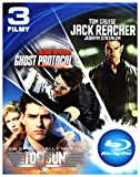 Top Gun / Mission Impossible 4 - Ghost Protocol / Jack Reacher [BOX] [3Blu-Ray] (English audio)