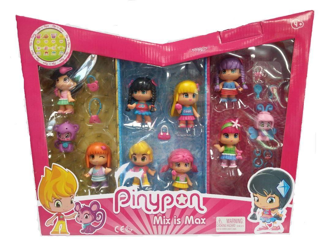 Pinypon 10 figuras + 30 accesorios: Amazon.es: Juguetes y juegos