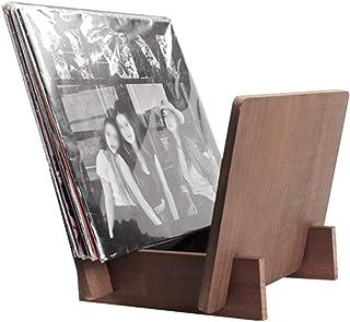 Soporte de exhibición de discos de vinilo, bar Casa de familia, cafetería, almacenamiento de CD, soporte de madera, autoen...