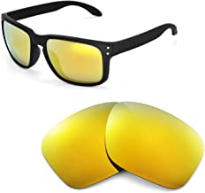 Walleva Replacement Lenses for Oakley Holbrook Sunglasses - 26 Options