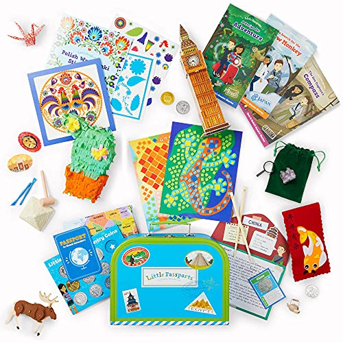 craft subscription boxes Little Passports World Edition - Subscription Box for Kids   Ages 6-10