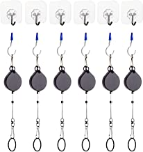 KIWI design VR Cable Managment   Ceiling Pulley System for HTC Vive/Vive Pro Virtual Reality/Oculus Rift/PS VR/Microsoft MR/Samsung Odyssey VR Accessories (Black)