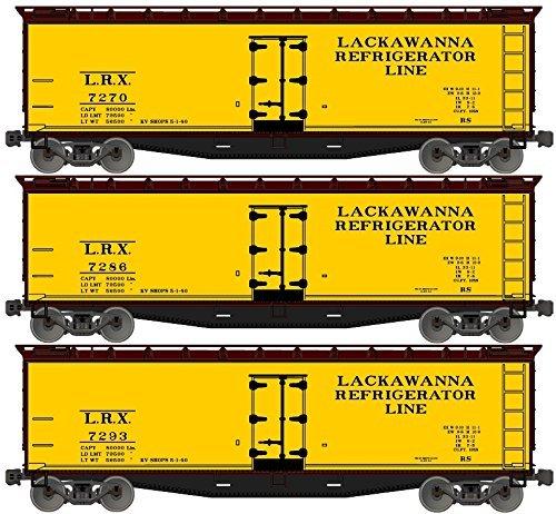 Accurail Model Trains 40'Wood Reefer Lack 3#Set