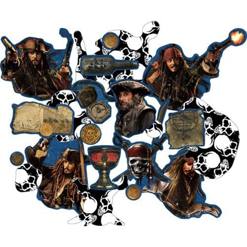 Hallmark Pirates of The Caribbean : on Stranger Tides Confetti