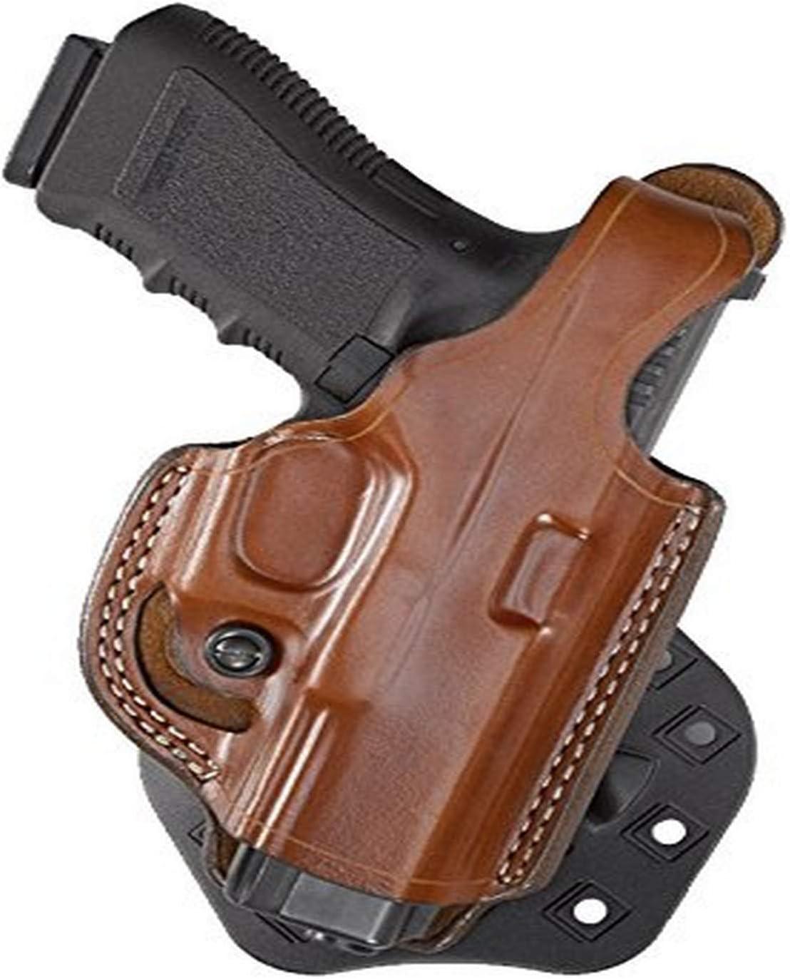 Aker H101TPRU-GL1719 Tan Comfort-Flex Shoulder RH Gun Holster Fits Glock 17 19