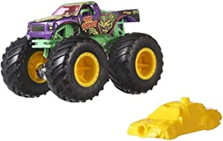 Hot Wheels Monster Trucks 1:64 Scale Die-Cast Assortment with Giant Wheels FYJ44