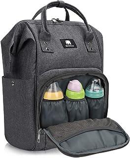 超大容量マザーズリュック 防水マザーズバッグ ママバック 軽量 保温ポケット 掛けるベルト付き 多機能盗難防止ポケット付き ベビー用品収納用 通勤 旅行 出産準備用