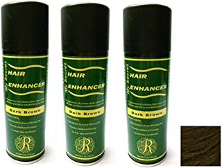 My Secret Hair Enhancer Spray for Fine or Thinning Hair - 5oz Each - 3 Cans - Dark Brown