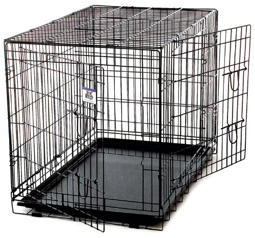 Price comparison product image Little Giant Pet Lodge Extra Large Double Door Wire Pet Crate
