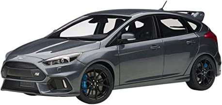 2016 Ford Focus RS Stealth Gray Metallic 1/18 Model Car by Autoart 72954