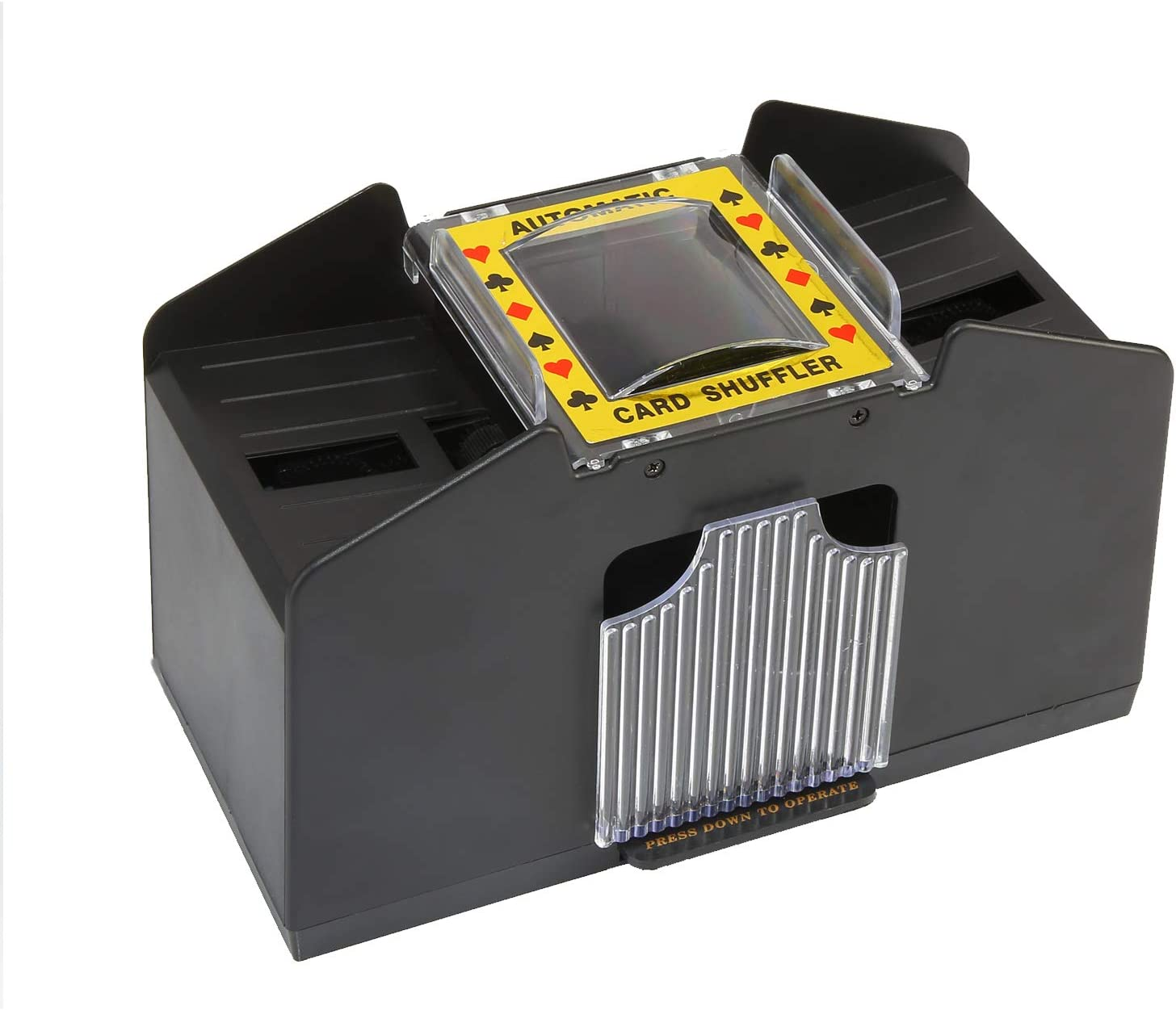 ZEAVAN Automatic Card Excellent Shuffler Adult U Elderly Easy Choice Electric to