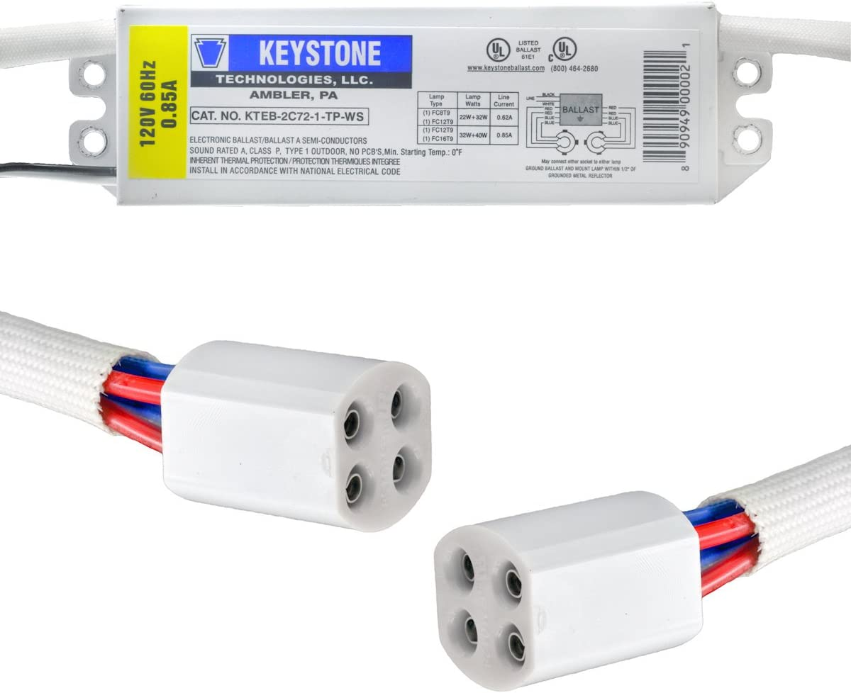 Keystone Ballasts Sale Special Price 22 32 Watt w 120V circline Over item handling ☆ or 40
