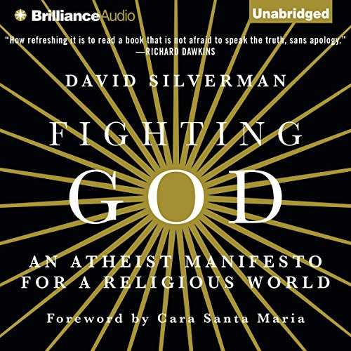 Fighting God audiobook cover art