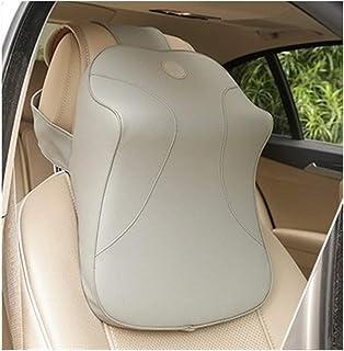 Memory Foam Car Pillow-Danny Leather Lumbar Pillow, Car Seat Lumbar Headrest, Office Pillow, Lumbar Support Cushion Car Ac...