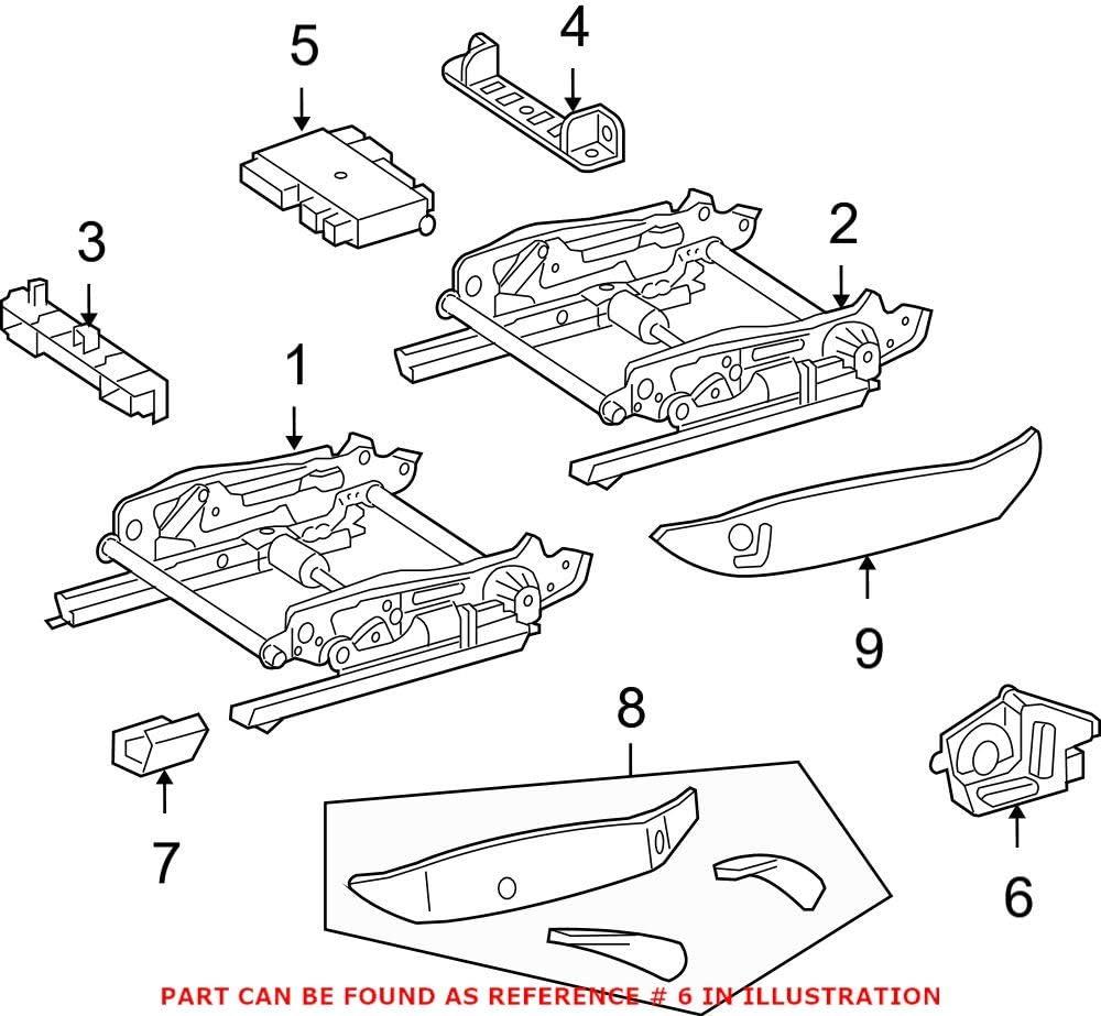 Sale item Genuine OEM 4 years warranty Power Seat 17182057109980 Switch for Mercedes