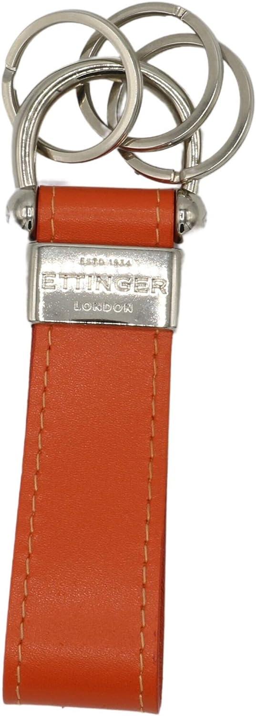 Ettinger Sterling Stirrup Keyring - Single Keychain ST152ASLORG