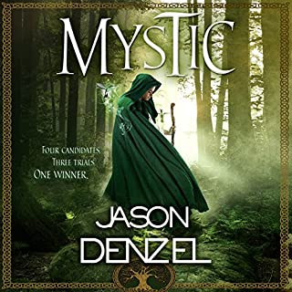 Mystic audiobook cover art
