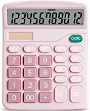 $34 » XYW Calculator Solar Business Calculator Accounting Finance Office Student Exam Electronic Computer (Color : Blue)