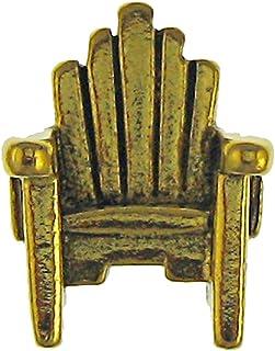 Jim Clift Design Adirondack Chair Gold Lapel Pin