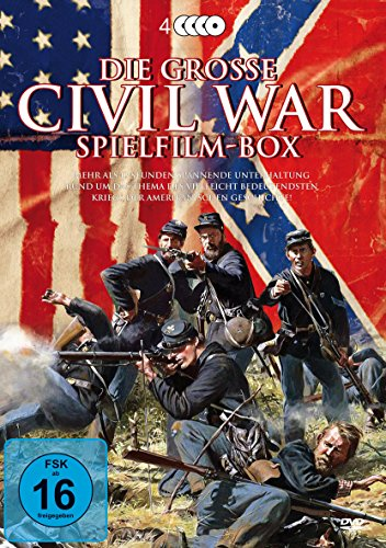 Die große Civil War Spielfilm-Box [4 DVDs]
