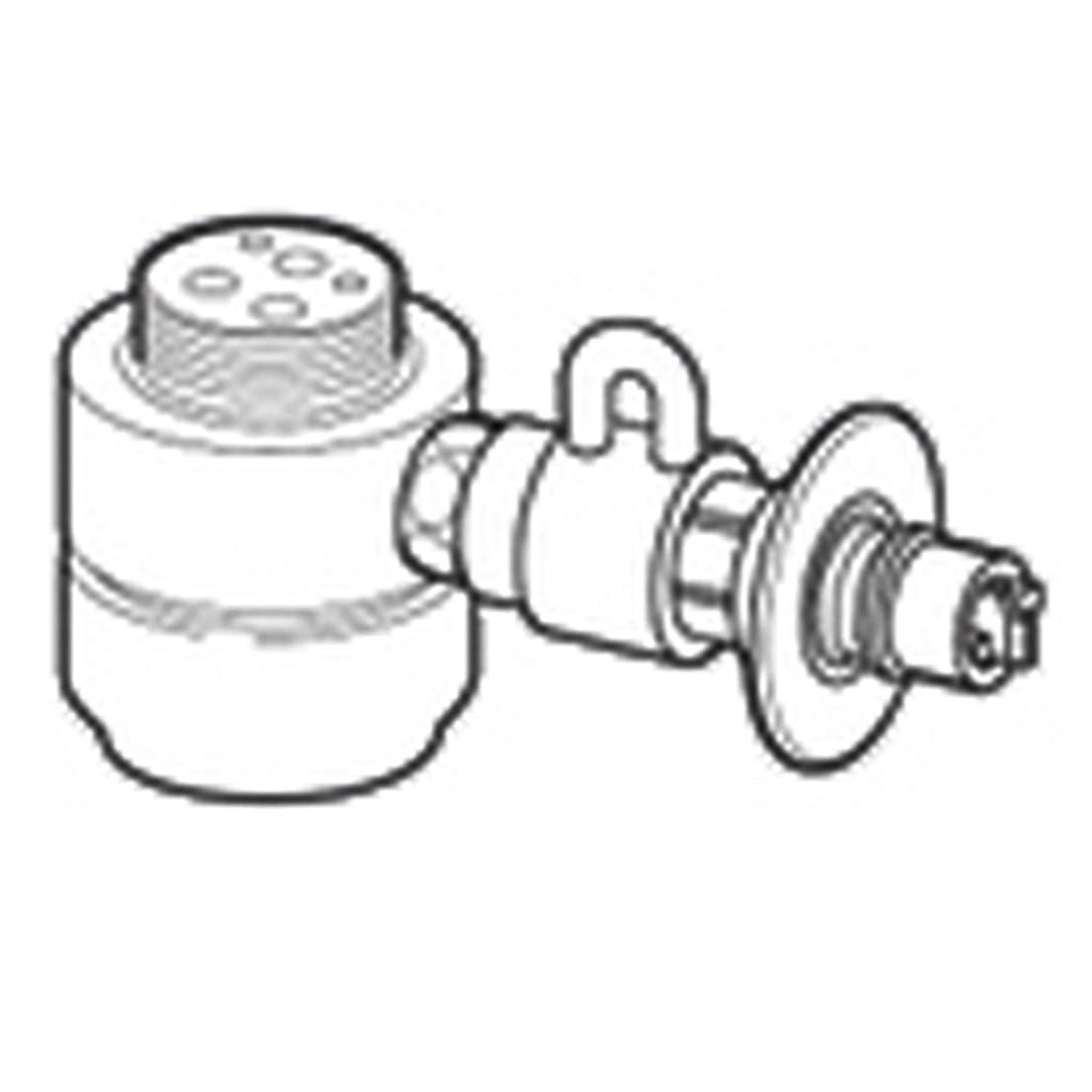 抑圧者持つ溝パナソニック(Panasonic) 食器洗い乾燥機用分岐水栓 CB-SKH6