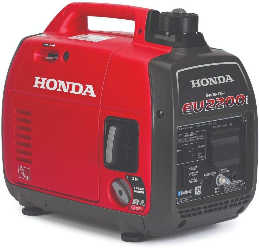 Honda 664240 EU2200i 2200 Watt Portable Inverter Generator with Co-Minder