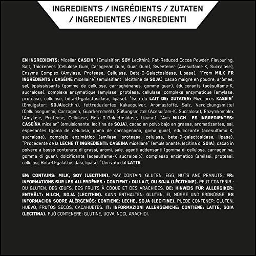 Optimum Nutrition Casein Protein Chocolate Supreme, 1er Pack (1 x 1818 g) - 7