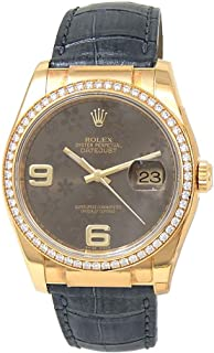 Rolex Datejust Automatic-self-Wind Male Watch 116188 (Certified Pre-Owned)