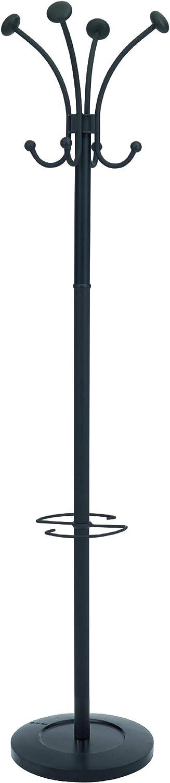 Over item handling Alba Classic Floor Coat Rack Black Pegs Very popular! Stand 4-Double with