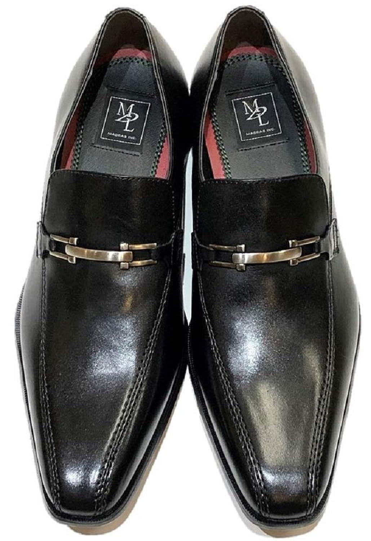 [マドラスモデロ] メンズ 靴 スリッポン ビットローファー DS4050 ブラック