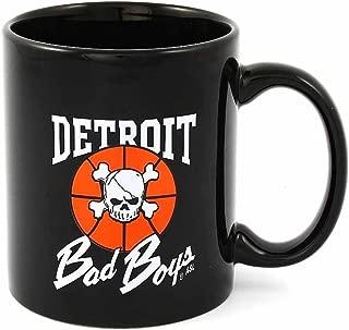 Detroit Pistons Bad Boys Mug- Vintage Throwback NBA Coffee Mug