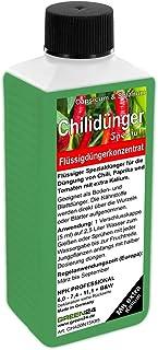 GREEN24 Chilidünger Paprikadünger Spezial Capsicum, zum düngen von Chili Chilli Peperoni Paprika und auch Tomaten, Flüssig - Dünger der Profi Linie