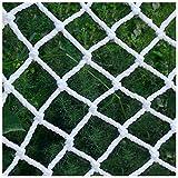 Red de seguridad de malla protectora para escalar, redes de remolque para camiones de interior y exterior, red de seguridad para niños para decoración de valla anticaída (tamaño: 5 x 6 m)