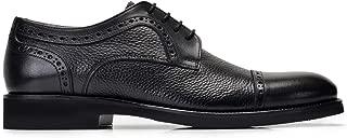 1748-530 EXLBAL-Antik Siyah 201- Floter Siyah 701 Nevzat Onay Siyah Günlük Deri Erkek Ayakkabı