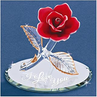 Glass Baron ~ Red Rose