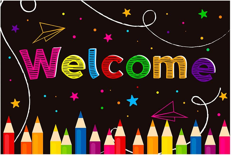 WaaHome 30pcs Welcome Postcards for Students Welcom Import Kids Popular brand 4''X6''