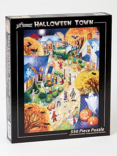 Halloween Town Jigsaw Puzzle 550 Piece