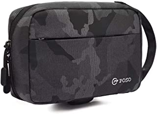 poso Bag For Unisex,Black - Clutches