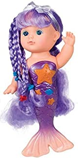 Toysmith Bathtime Mermaid Doll (Assorted Colors)