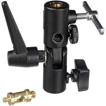 Manfrotto 026 Swivel Lite-Tite Umbrella Adapter,Black