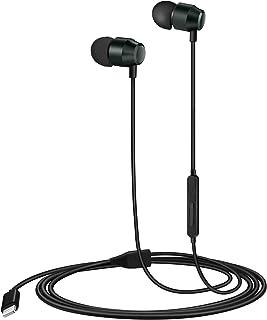 PALOVUE Lightning Headphones Earphones Earbuds in-Ear Magnetic MFi Certified with Microphone Controller Compatible iPhone 11 Pro Max X XS Max XR iPhone 8 Plus iPhone 7Plus Earflow (Metallic Green)