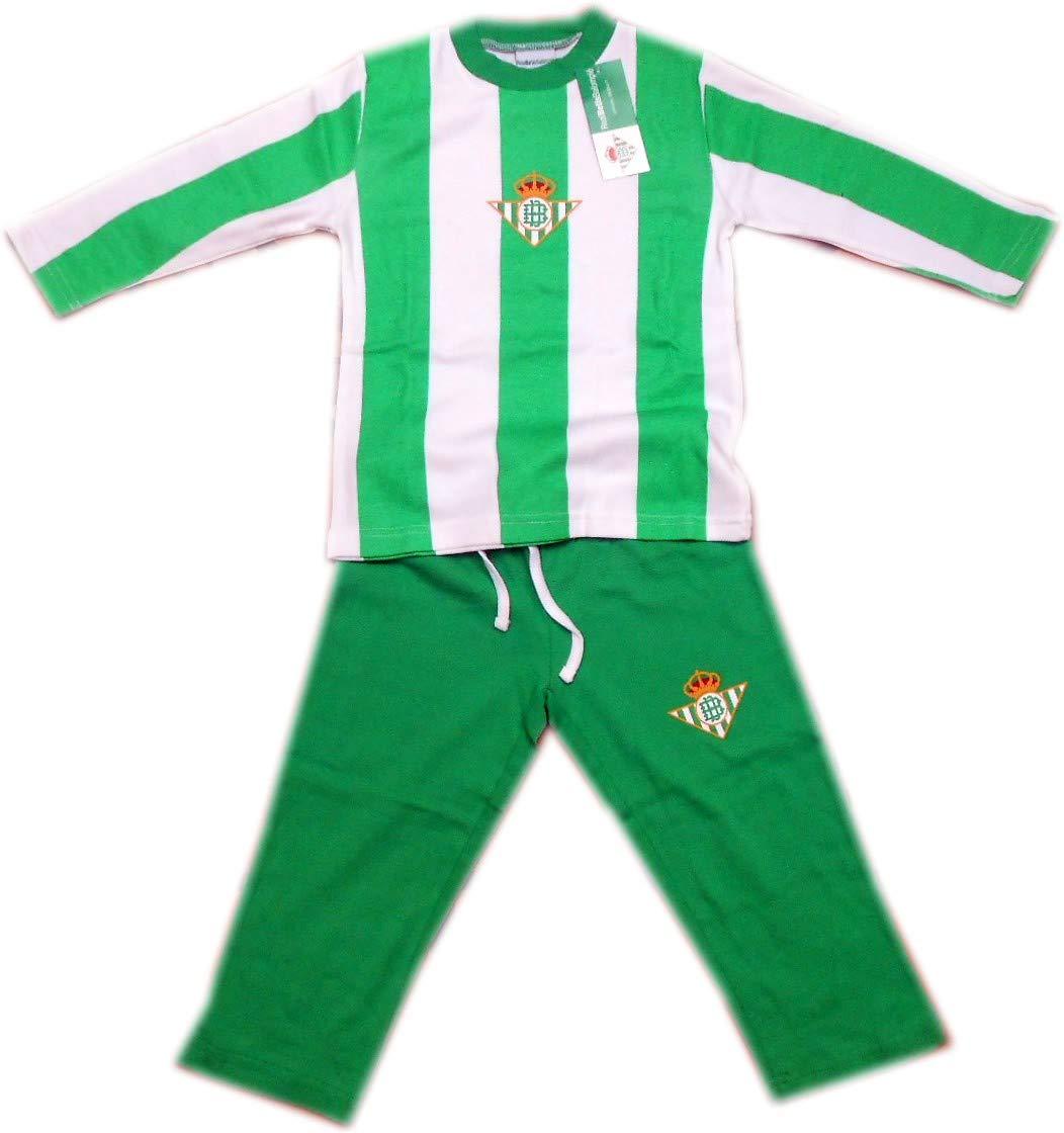 Pijama Real Betis invierno niño - 8: Amazon.es: Deportes y aire libre