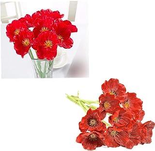 Suchergebnis Auf Amazon De Fur Mohnblume Kunstblumen Pflanzen Wohnaccessoires Deko Kuche Haushalt Wohnen