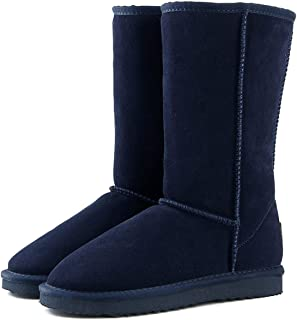 Genuine Leather Fur Snow Boots Women Top Australia Boots Winter Boots for Women Warm