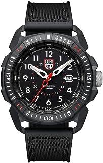 Luminox Men's Wrist Watch Ice-SAR Arctic 1001: 46mm Black Display Stainless Steel Case 200 M Water Resistant