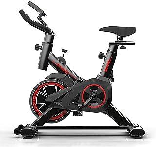 YXZQ Indoor Cycling Exercise Bike, Cardio Trainer Fitness Bike with Silent Belt Driven Flywheel, Adjustable Handlebars & S...