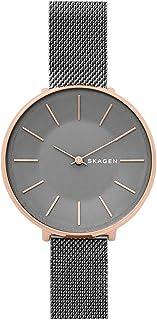 Skagen SKW2689 Karolina - Reloj de cuarzo japonés para mujer con correa de acero inoxidable, gris, 14 (modelo: SKW2689)