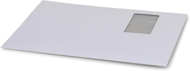 Versandumschlag DIN C4 weiß mit Fenster 229 x x x 324 mm (Innenmaß) Haftklebend  Verpackungseinheit  250 Stück  B07NQKNFF1   Vielfältiges neues Design  e57eac